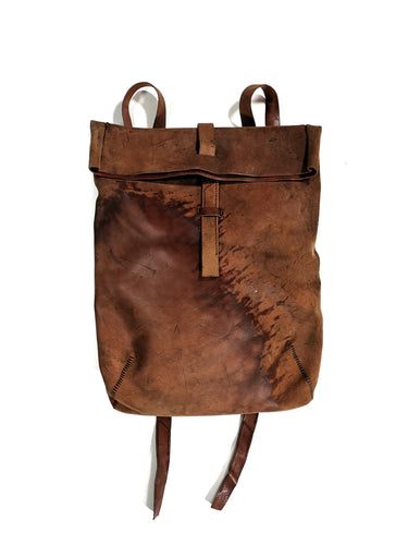 PROJECT BY H,NOMAD-ORGANIC SHEPHERD BACKPACK  (HAND-MADE),medium rare online