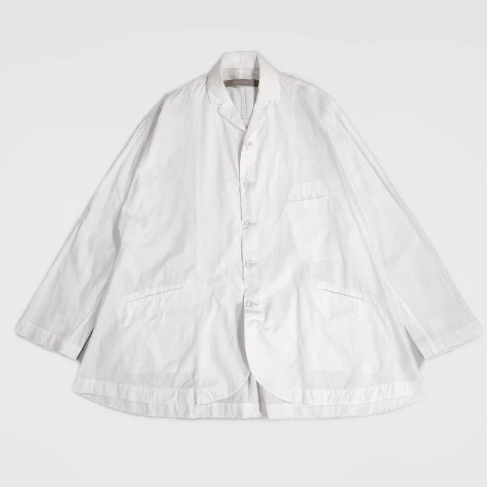 YUTA MATSUOKA,OPEN COLLAR WHITE SHIRT,medium rare online