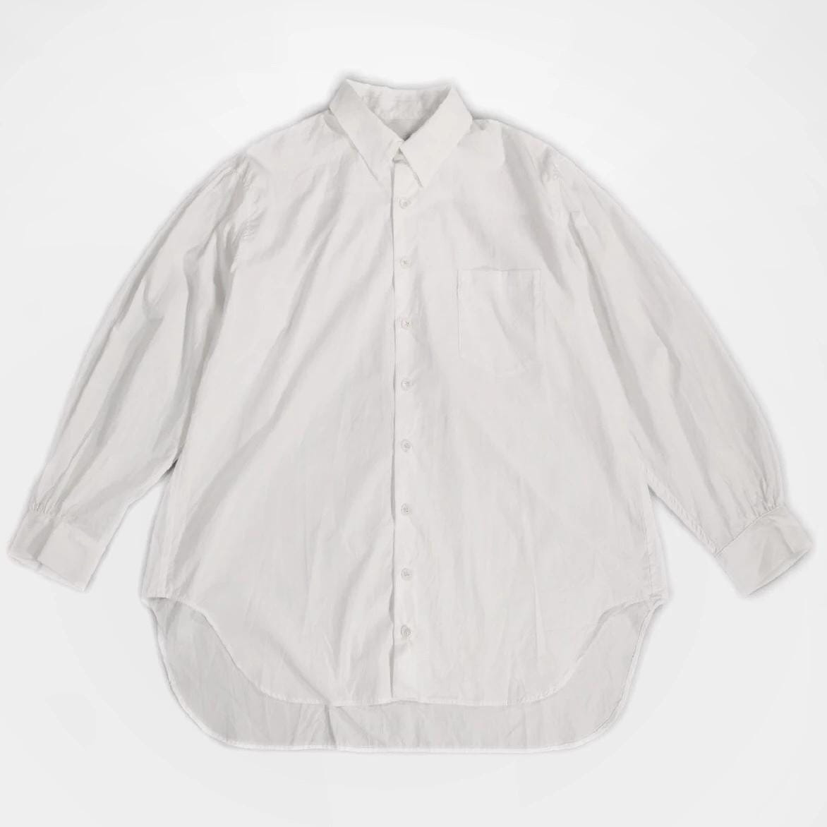YUTA MATSUOKA,POINT COLLAR WHITE SHIRT,medium rare online