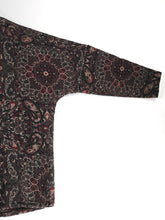 Load image into Gallery viewer, YANTOR,WOOL SILK PERSIAN JACQUARD WEAVE PULLOVER( Hand Woven),medium rare online