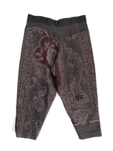 Load image into Gallery viewer, YANTOR,PAISLEY JACQUARD WOOL HIMO PANTS,medium rare online