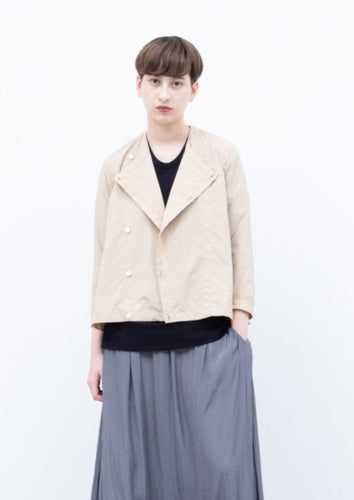 LIGHT POLY WRINKLE TAFFETTA JACKET