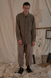 YUTA MATSUOKA,WOOL DRAWSTRING PANTS,medium rare online