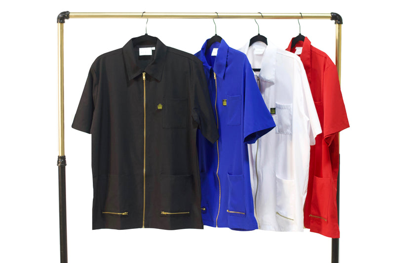 barber jackets - barber smocks- cheap barber jackets - vintage barber jackets - classic barber smocks- traditional barber smocks