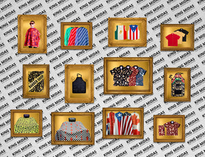 barber capes- barber smocks- barber vests- barber aprons- king midas capes
