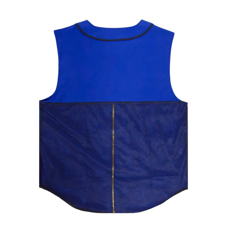 King Mida Barber Vest (Blue)