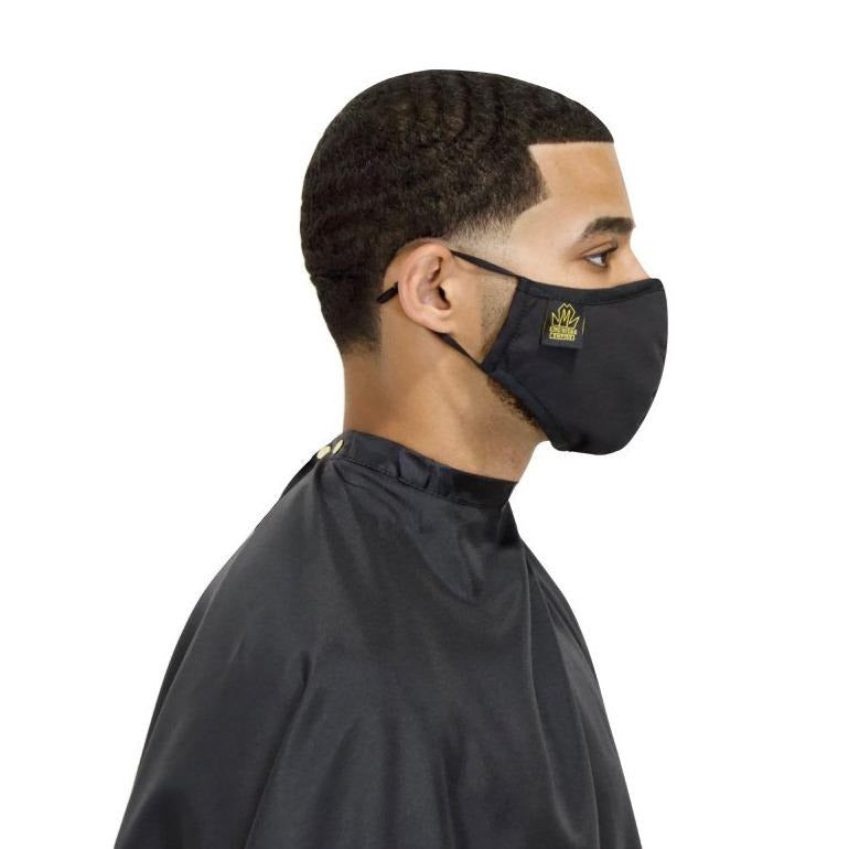 Barber cape set- barber cape- barber face mask -sets- barber mask cape set