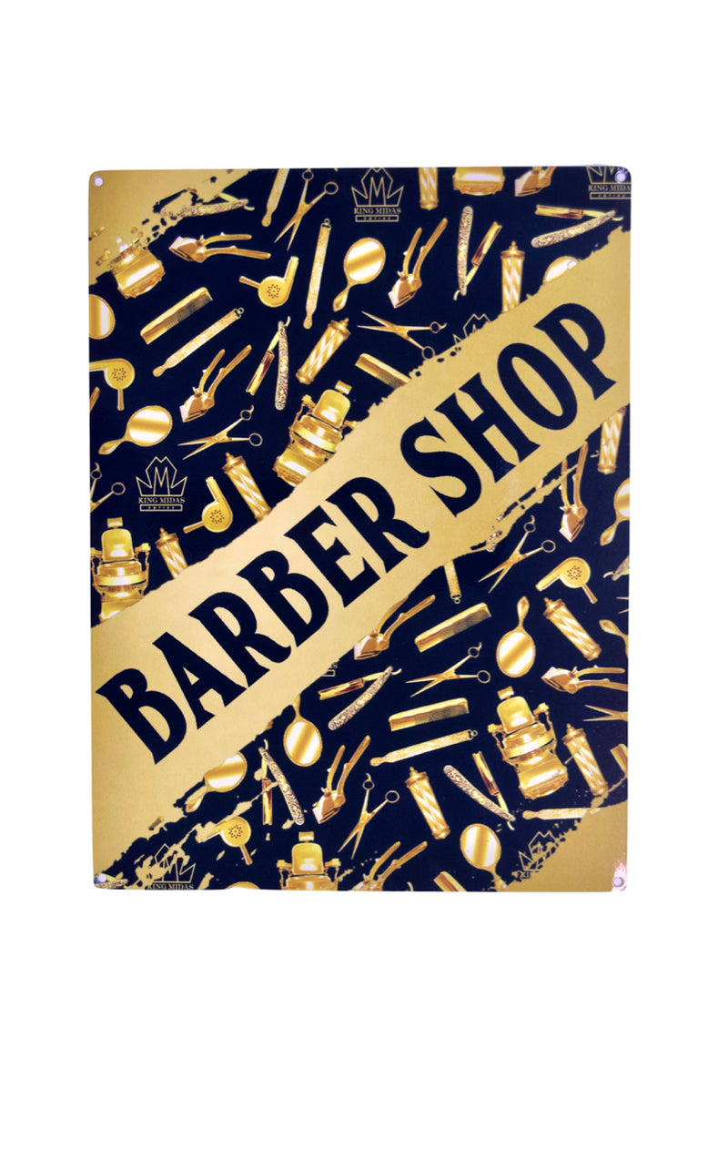Barber Shop Sign - Barber shop sign - Official King Midas Store