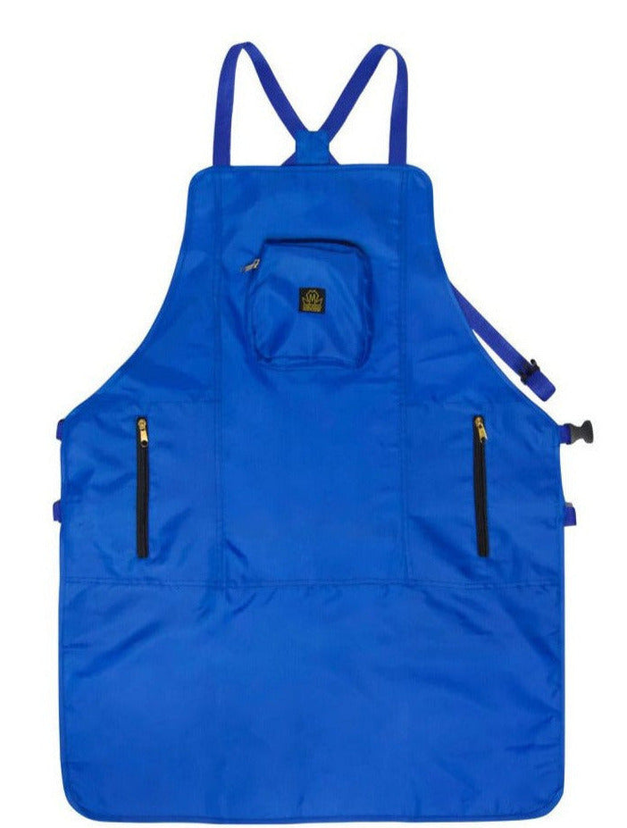 blue barber aprons- barber aprons - barber apron - apron for barber - haircutting aprons- hair stylist apron - professional barber apron - barber strong aprons