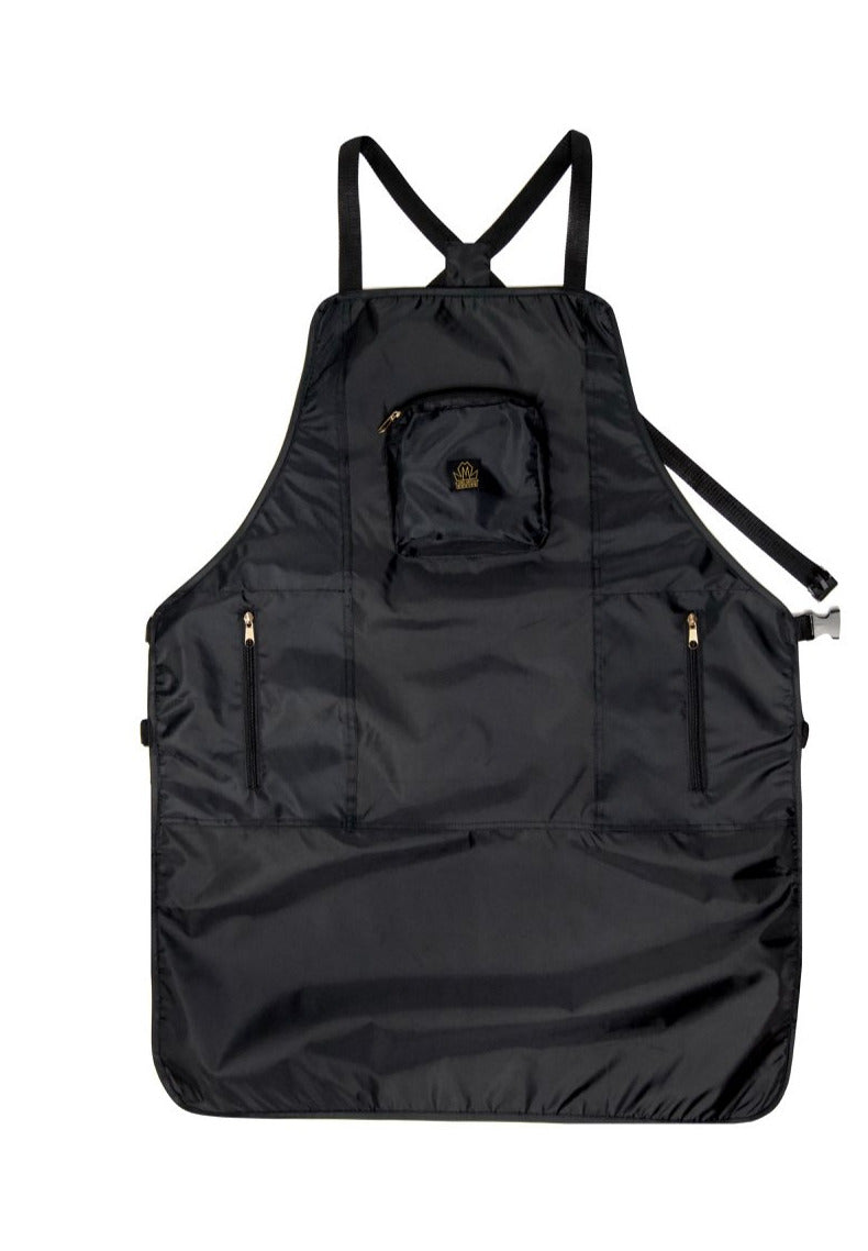 barber aprons - barber apron - apron for barber - haircutting aprons- hair stylist apron - professional barber apron - barber strong aprons-king midas aprons -barber aprons for sale - black barber aprons -