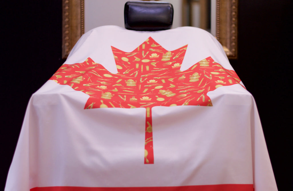 Canadian Royalty Cape - Barber Cape - Official King Midas Store