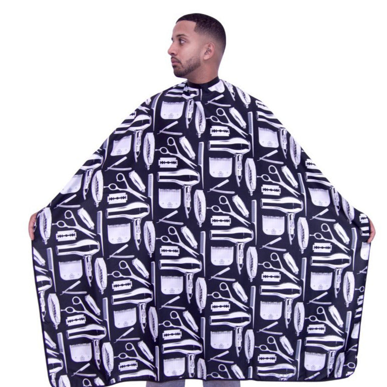 barber capes- barber cape-hair cutting capes-cutting capes -king midas capes -best barber capes -barber capes for sale -custom barber capes - capes for barbers