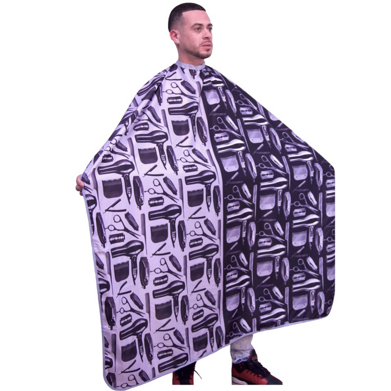 barber cape- plain color barber capes -solid color capes- professional hair cutting capes -extra large hair cutting cape -hair dresssers capes - barbers cape -king midas capes