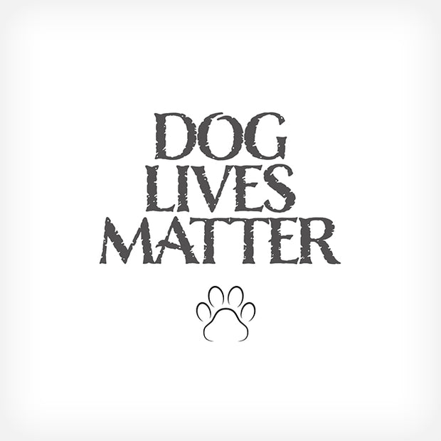 DOGS LIVES MATTER.... BOX-FRAMED PRINT - doggily