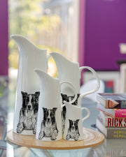 BORDER COLLIE - MEDIUM JUG (20cm HIGH) - doggily