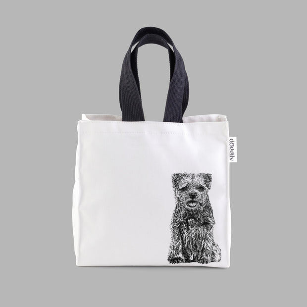 BORDER TERRIER - LUNCH BAG - doggily
