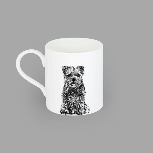 BORDER TERRIER - LARGE MUG (400ml) - doggily