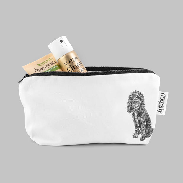 COCKAPOO - COSMETIC BAG / PENCIL CASE - doggily