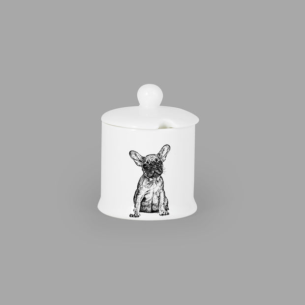 FRENCH BULLDOG - CONDIMENT JAR (150ml/9cm HIGH) - doggily