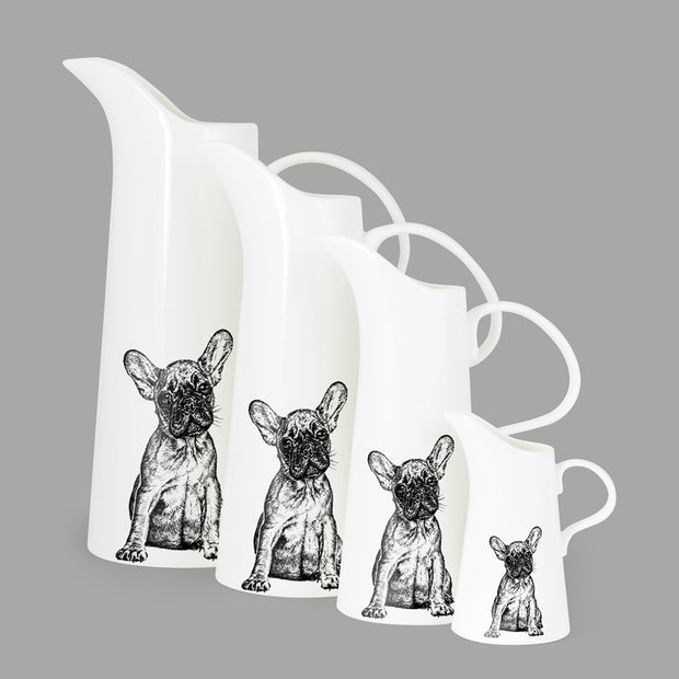 FRENCH BULLDOG - LARGE JUG (25cm HIGH) - doggily