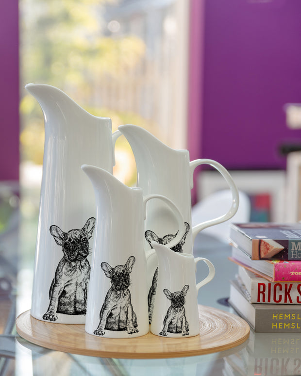FRENCH BULLDOG - SMALL JUG (11cm HIGH) - doggily