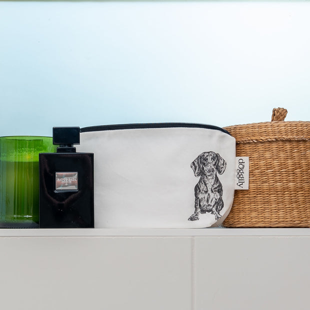 DACHSHUND - COSMETIC BAG / PENCIL CASE - doggily