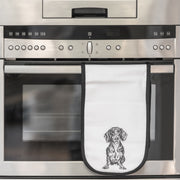 DACHSHUND - DOUBLE OVEN GLOVES - doggily