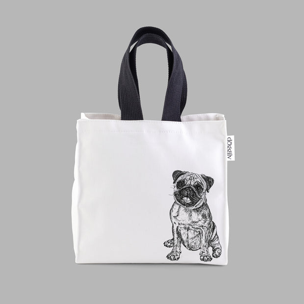 PUG - LUNCH BAG - doggily