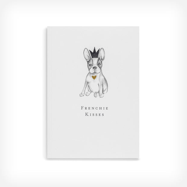 FRENCHIE KISSES NOTEBOOK - doggily