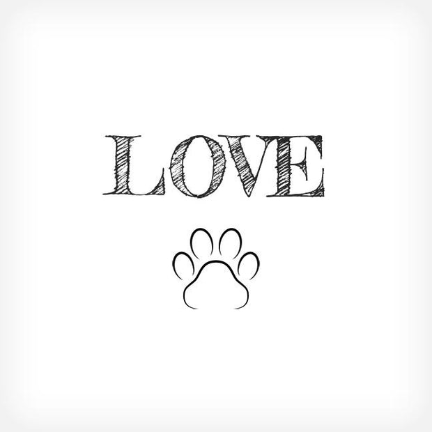 LOVE BOX-FRAMED PRINT - doggily