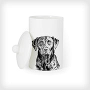 LABRADOR - TREAT / STORAGE JAR (900ml/18cm HIGH) - doggily