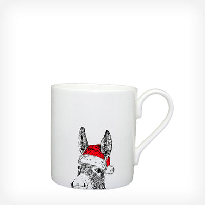 CHRISTMAS DONKEY - LARGE MUG (400ml)
