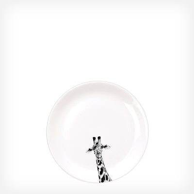 GIRAFFE - SIDE PLATE  (21cm DIAMETER) - doggily