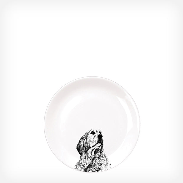 RETRIEVER - SIDE PLATE  (21cm DIAMETER) - doggily