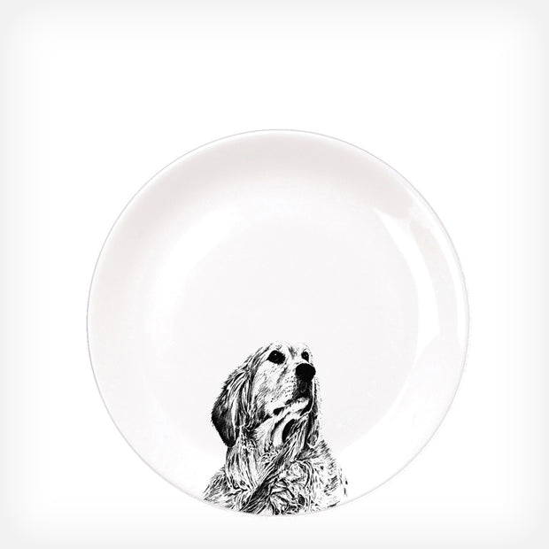 RETRIEVER - STARTER PLATE  (26.5cm DIAMETER) - doggily