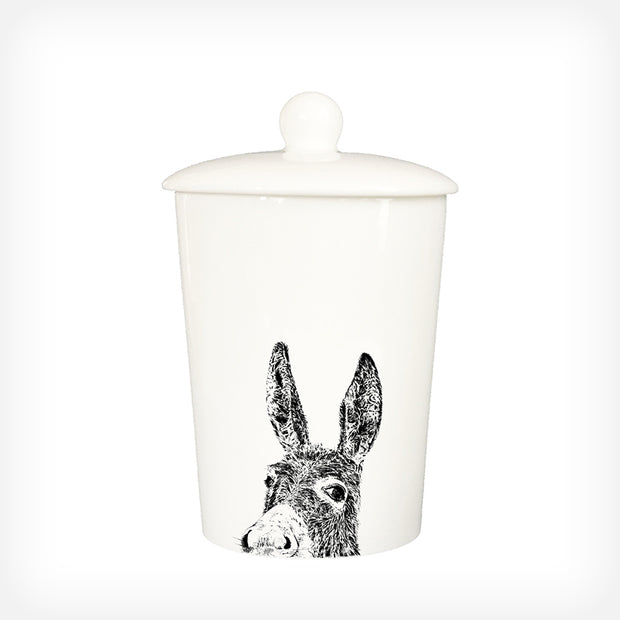 DONKEY - TREAT / STORAGE JAR (900ml/18cm HIGH) - doggily