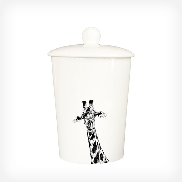 GIRAFFE - TREAT / STORAGE JAR (900ml/18cm HIGH) - doggily