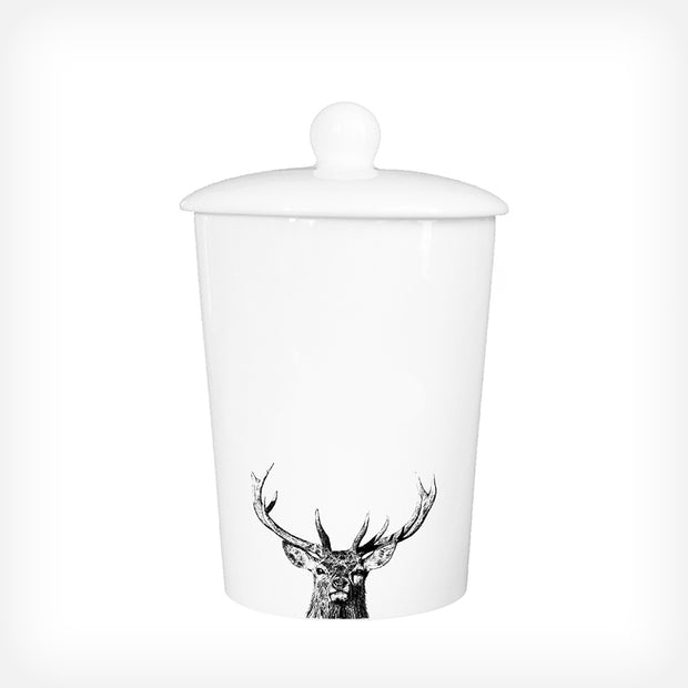 MAJESTIC STAG - TREAT / STORAGE JAR (900ml/18cm HIGH) - doggily