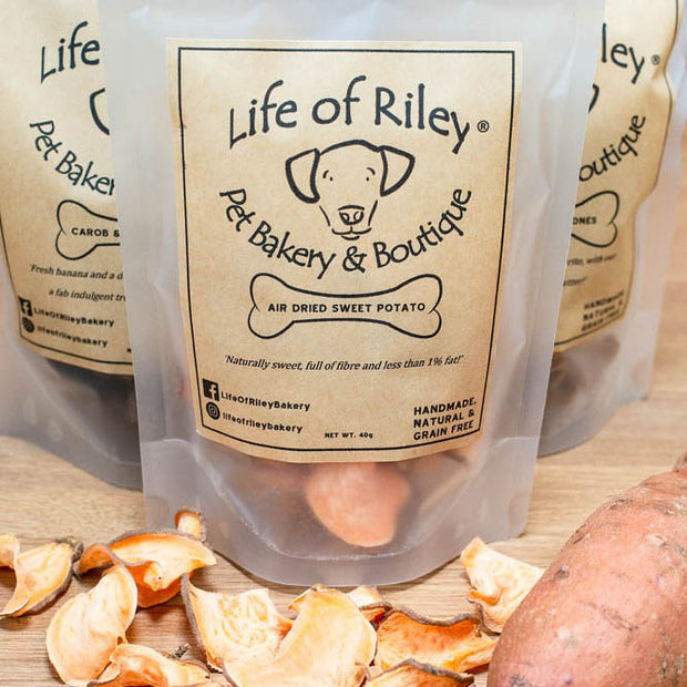 SWEET POTATO TREATS from LIFE OF RILEY - 40g - doggily