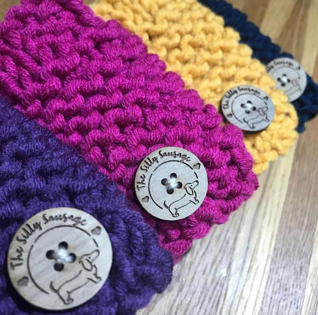 KNITTED WOOL SNOODS