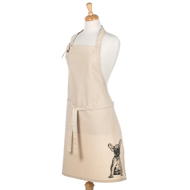 FRENCH BULLDOG - FULL BIB ADULT APRON - doggily