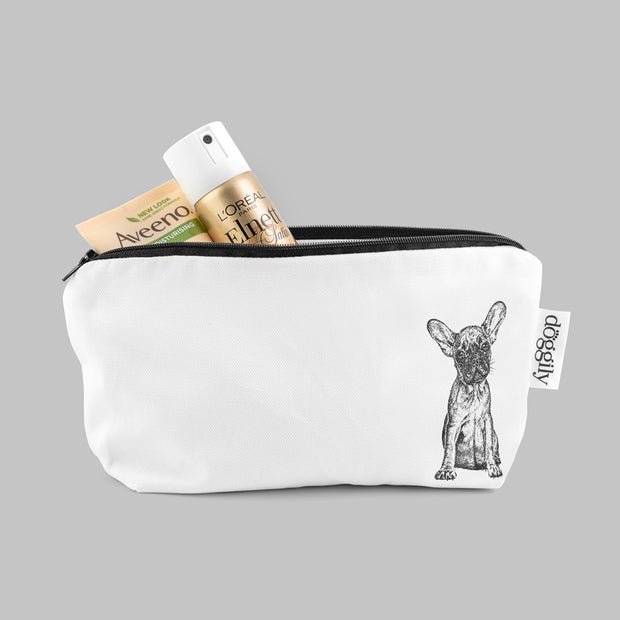 FRENCH BULLDOG - COSMETIC BAG / PENCIL CASE - doggily