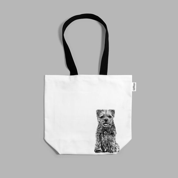 BORDER TERRIER - SHOPPING BAG - doggily