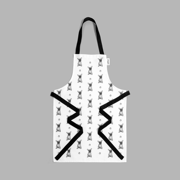 FRENCH BULLDOG - FULL BIB CHILD'S APRON - doggily