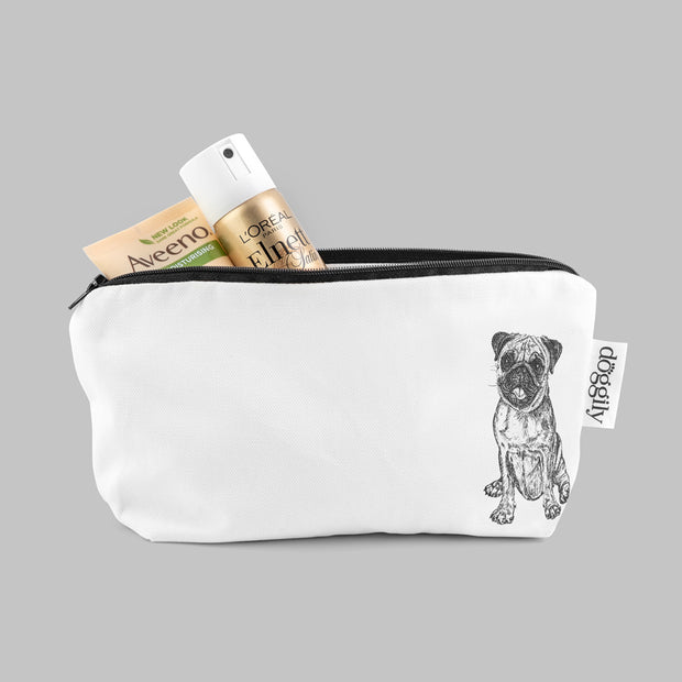 PUG - COSMETIC BAG / PENCIL CASE - doggily