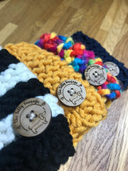 KNITTED WOOL SNOODS - doggily