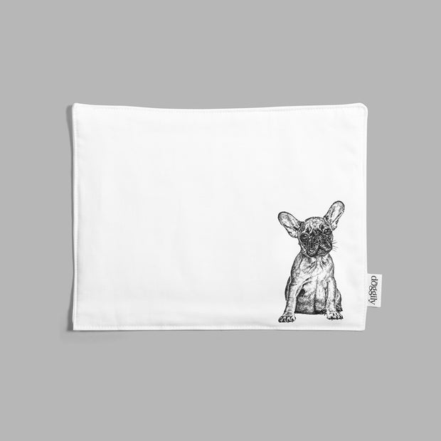 FRENCH BULLDOG - INSULATED FABRIC PLACEMAT - doggily