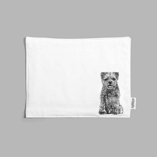 BORDER TERRIER - INSULATED FABRIC PLACEMAT - doggily