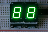 Addressable 7-Segment Display
