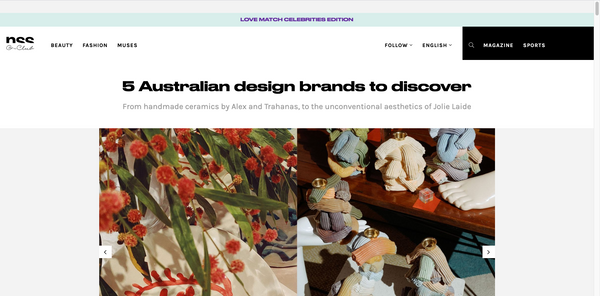NSS G-Club - 5 Australian design brands to discover